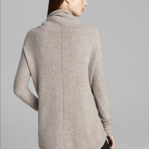 Theory Norman B Cashmere Sweater in Taupe
